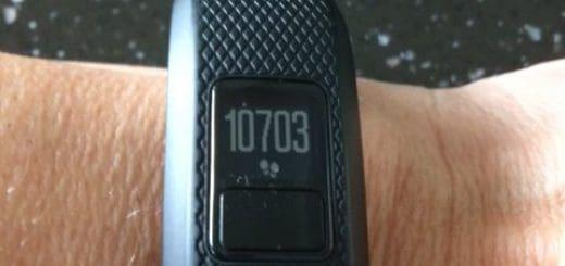 10000 skridt på Vivofit