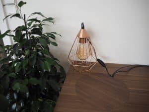 Vores nye bordlampe