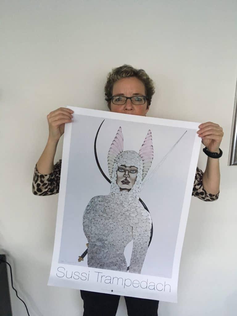 Mig og min nye flotte plakat