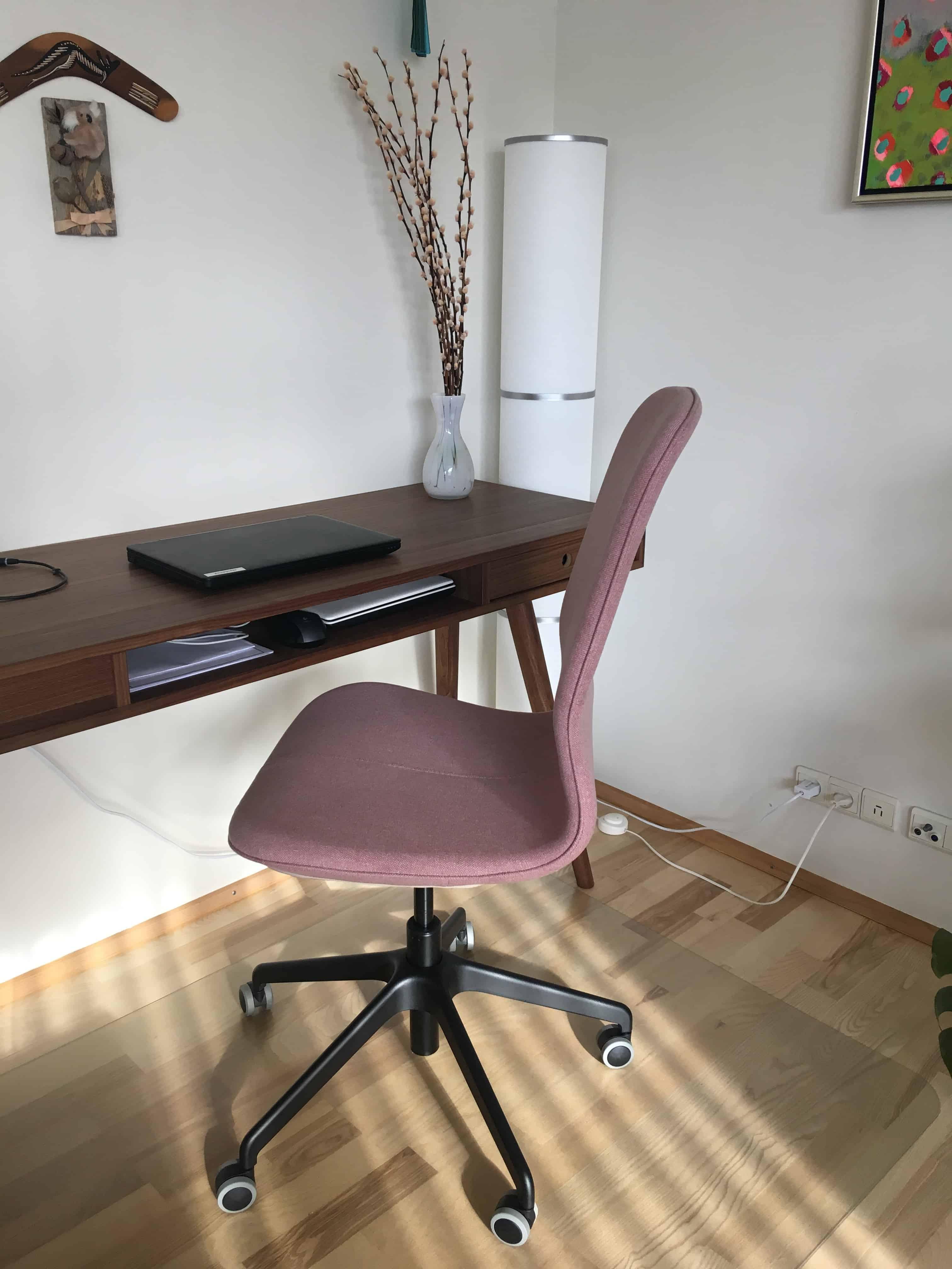 Vores nye kontorstol