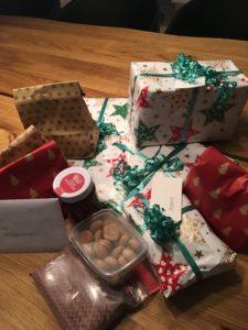 Bloggeradventspakker og julegodtposer fra min julenisse