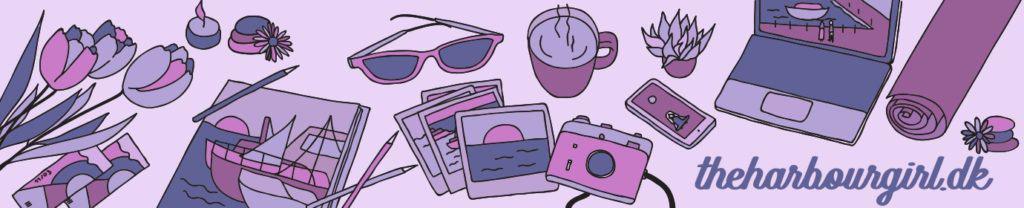 Min nye blog header, der er lavet af Kristina Sindberg fra KS Onlinemarketing