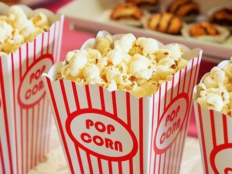 En god biograftur inkluderer popcorn