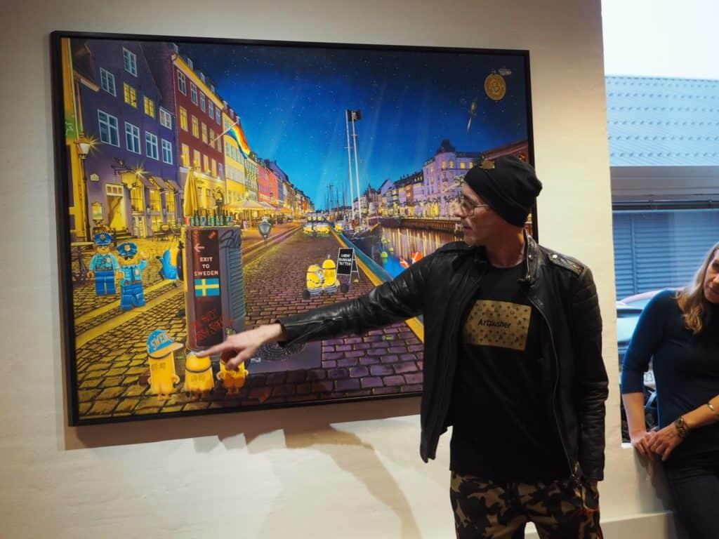 Artpusher fortæller om et af sine værker