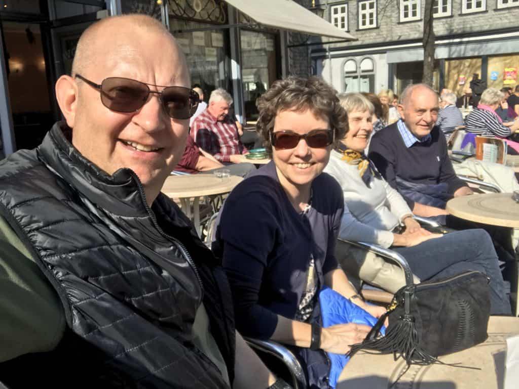 Mads og jeg holdt lidt tidlig påskeferie i Goslar i Harzen her i weekenden