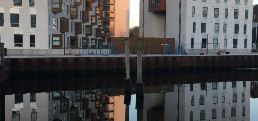 Puddlegram fra Odense havn