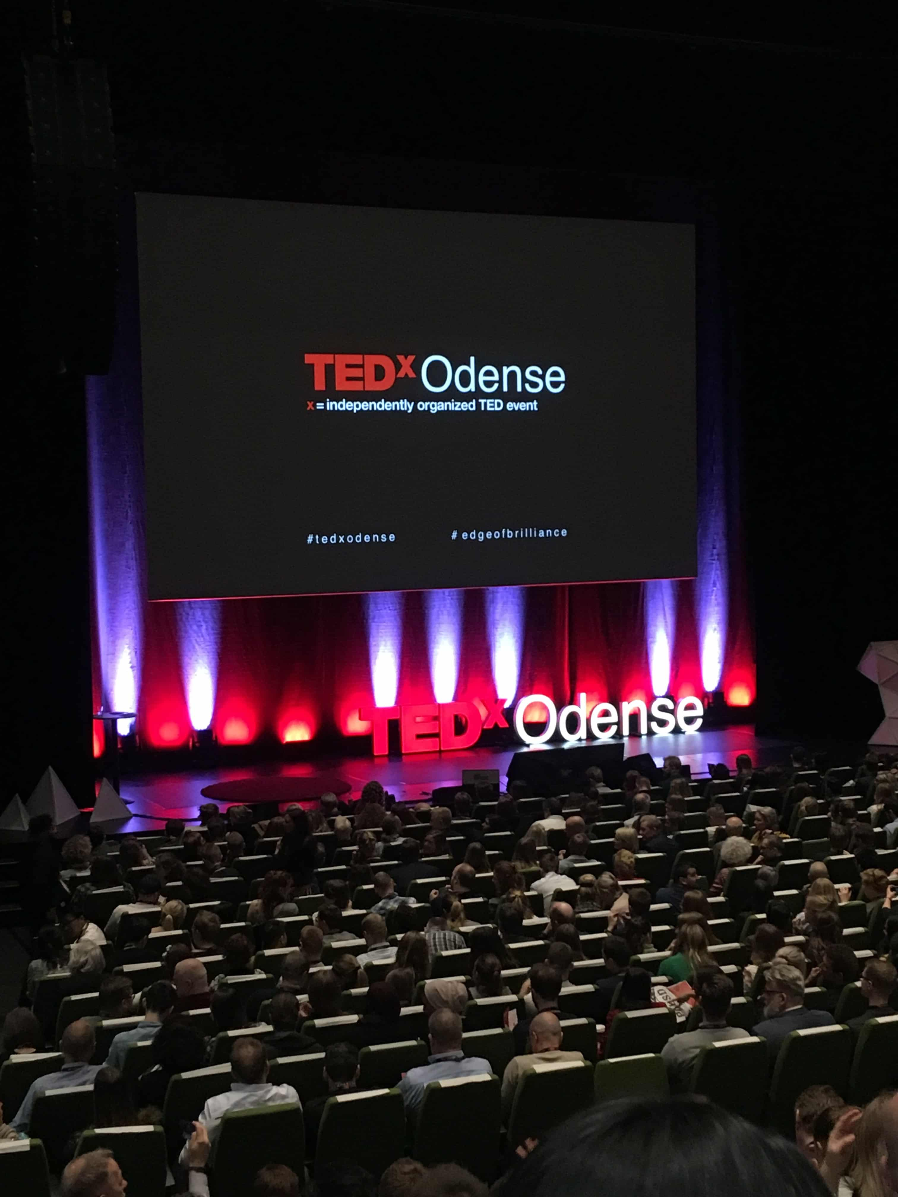 Så er vi ved at være klar til take off på TEDx Odense