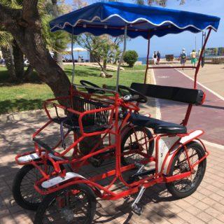 De her cykler var ret populære blandt andre turister end os
