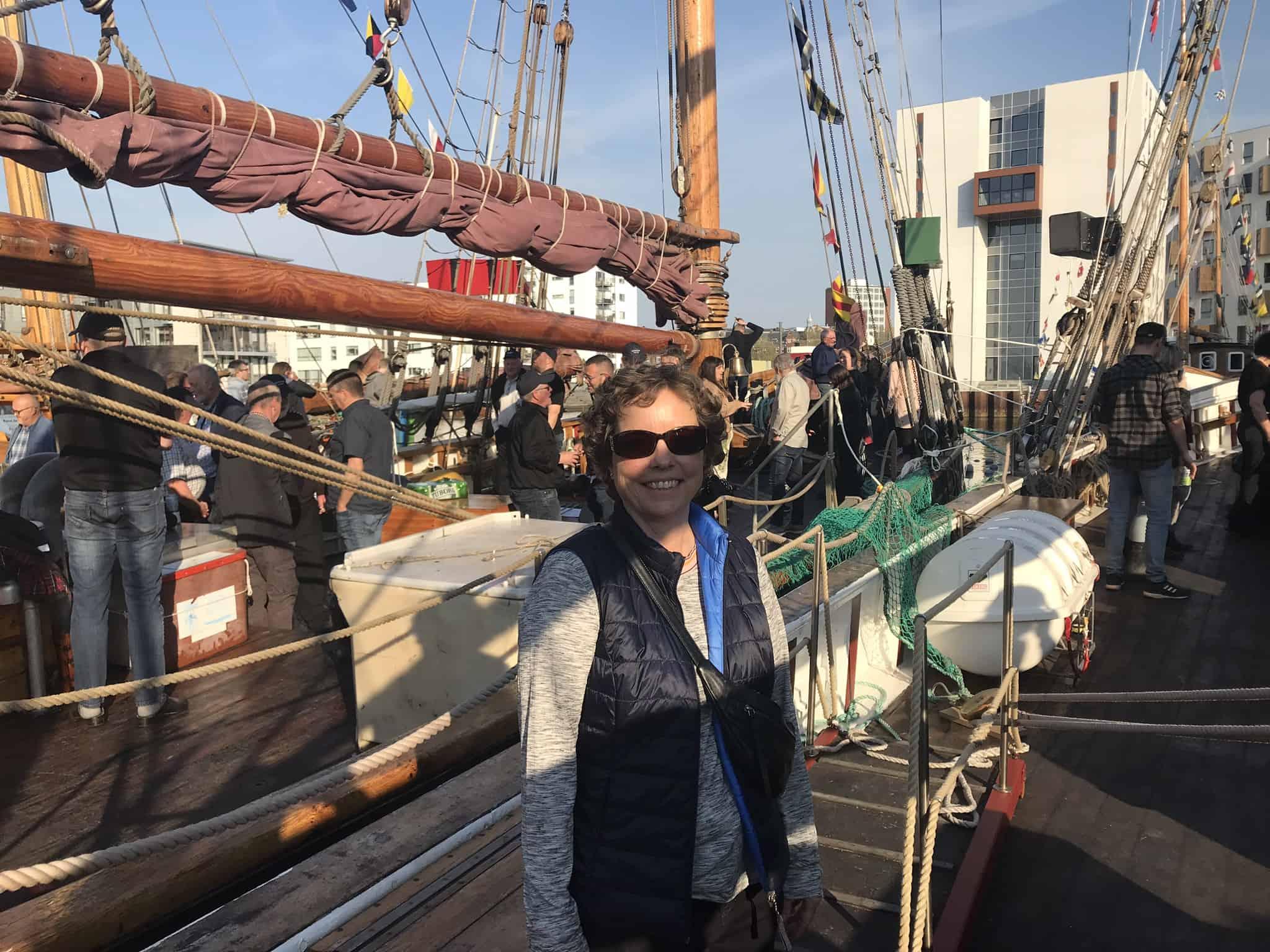 Jeg var ombord på de færøske træskibe