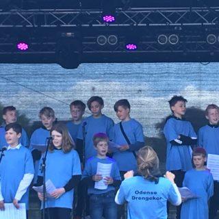 Odense Drengekor sang bl.a.'Hallelujah'og årh den er god!