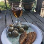 Stegt (valg)flæsk med kartofler og persillesovs