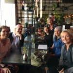 6 seje BBH blogger girls: Vibeke bagerst til højre og Janet i blå skjorte