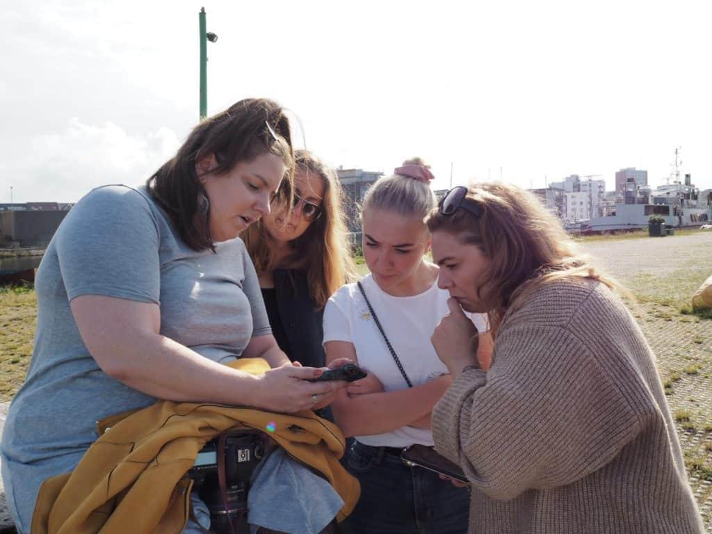 Photowalk med 4 kolleger