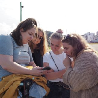 Fotowalk med 4 kolleger