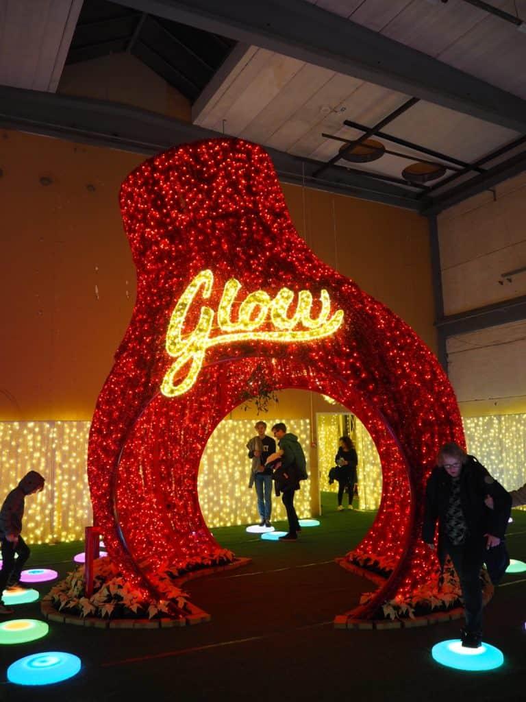 Glow julefestival
