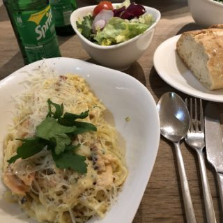 Frokost på Vapiano