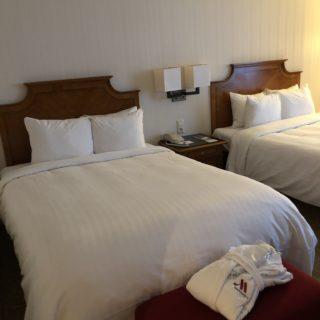 Vores hotelværelse
