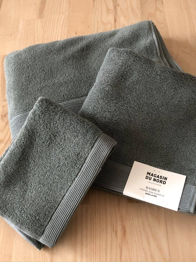 Nye håndklæder og de er så bløde