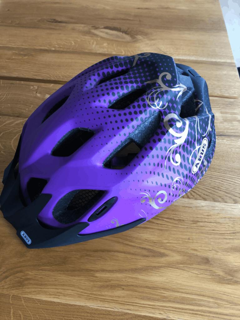 Min nye Abus cykelhjelm