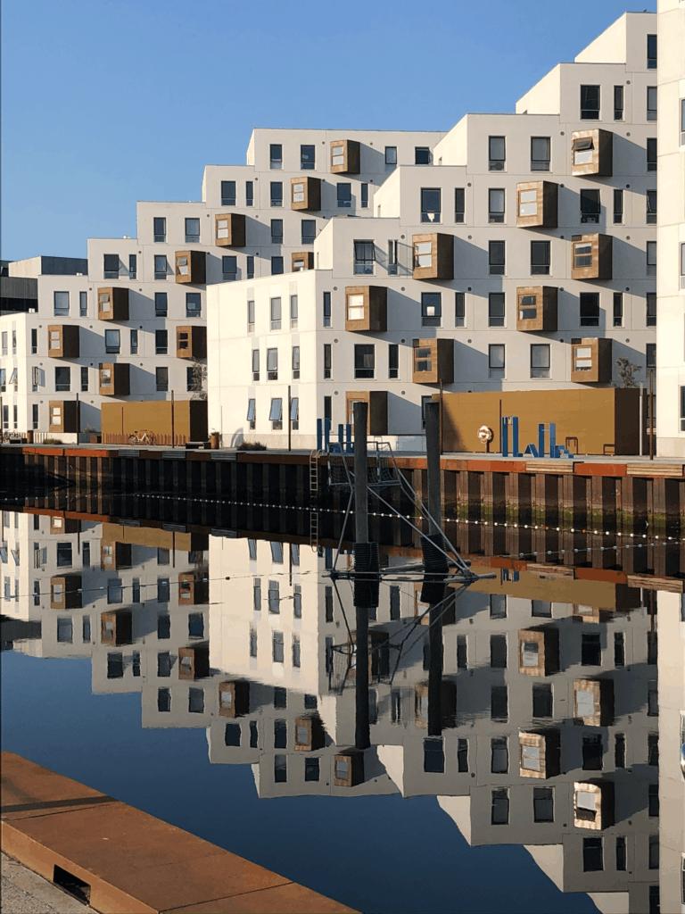 Stille morgner på Odense havn giver gode photo opportunities