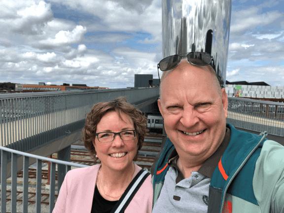 Byens Bro binder Odense city og Odense havn sammen