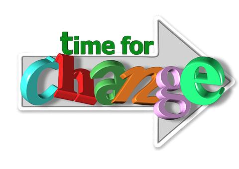 Tid til forandring