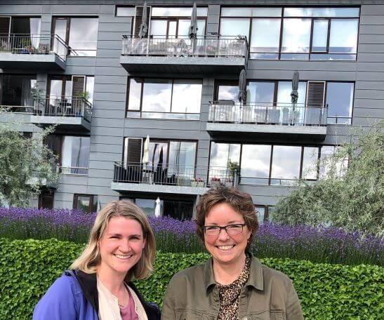 I starten af juli havde jeg besøg af min bloggerkollega Elizabeth