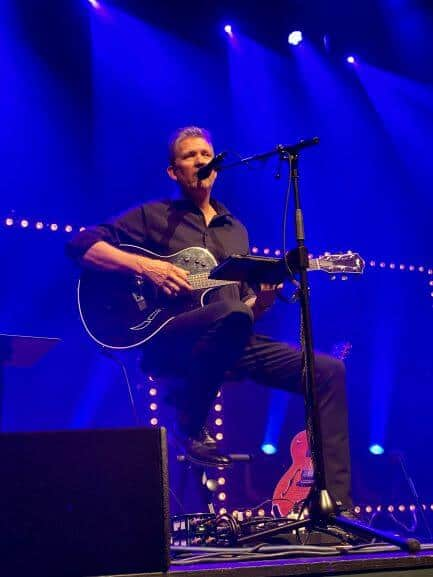 Anders Blichfeldt på Bastionen i Nyborg og Alene på scenen