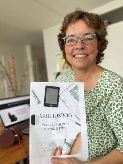 Jeg har haft stor glæde af Charlottes online kursus 'Skab det arbejdsliv du længes efter'
