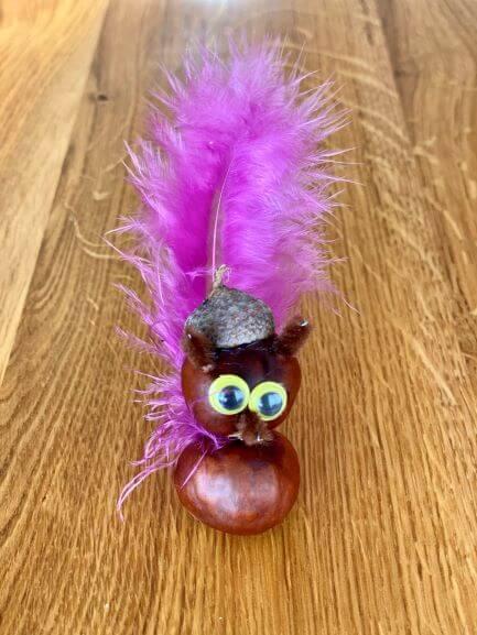 et lille egern med tophue