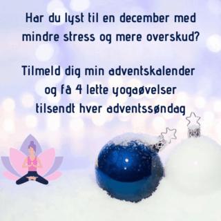Få en december med mindre stress og mere overskud