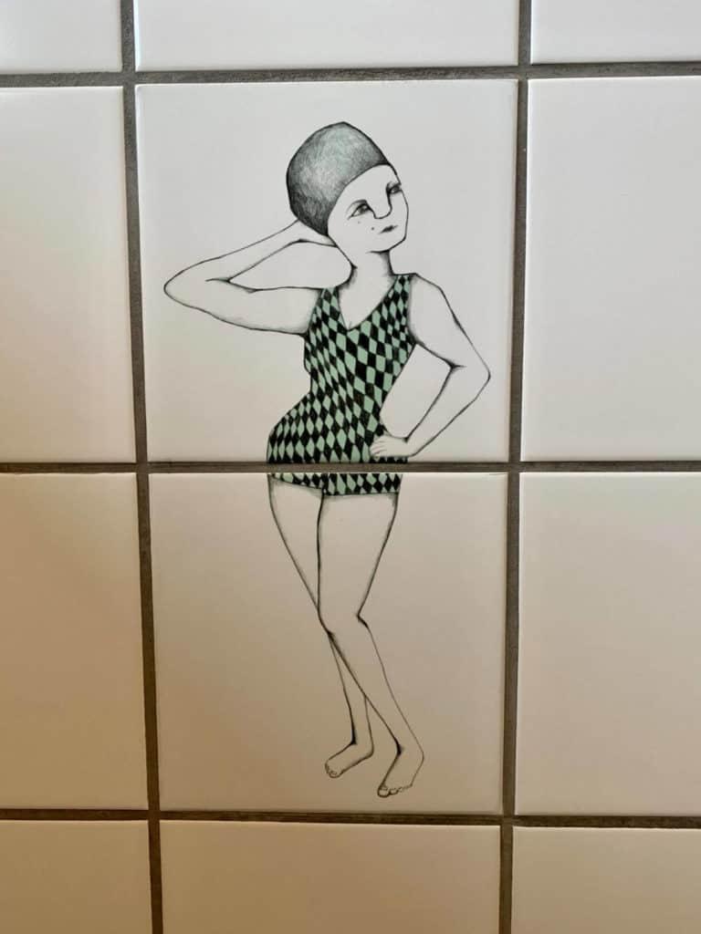 Jeg er vild med Kirstine Falks badenymfe