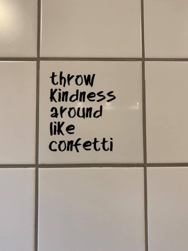 Vi starter dagen godt med de her ord