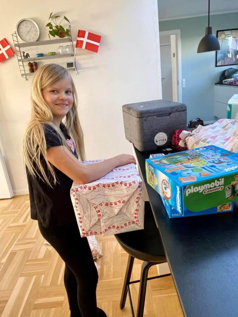 Yngste medlem af Møller klanen er lige fyldt 9 år