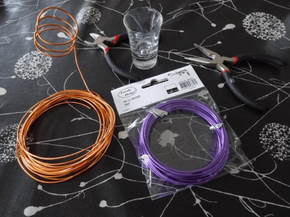 Kreativ med alu wire