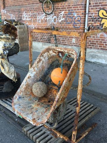 Art Upcycling kunst på havnefestivalen