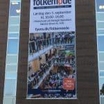 Banner på Mediehuset