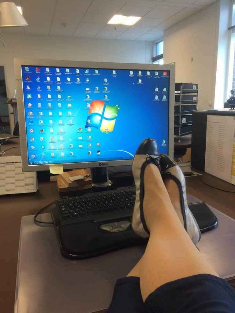 En stille uge på kontoret!