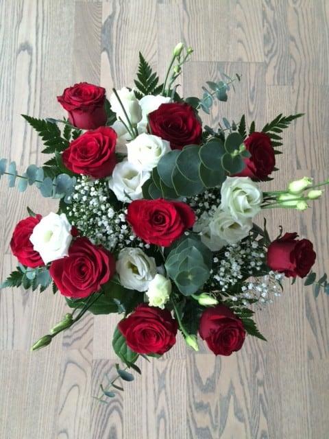 Blomster fra Bettina og Michael