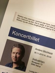 Blichfeldt på Industrien i Årup