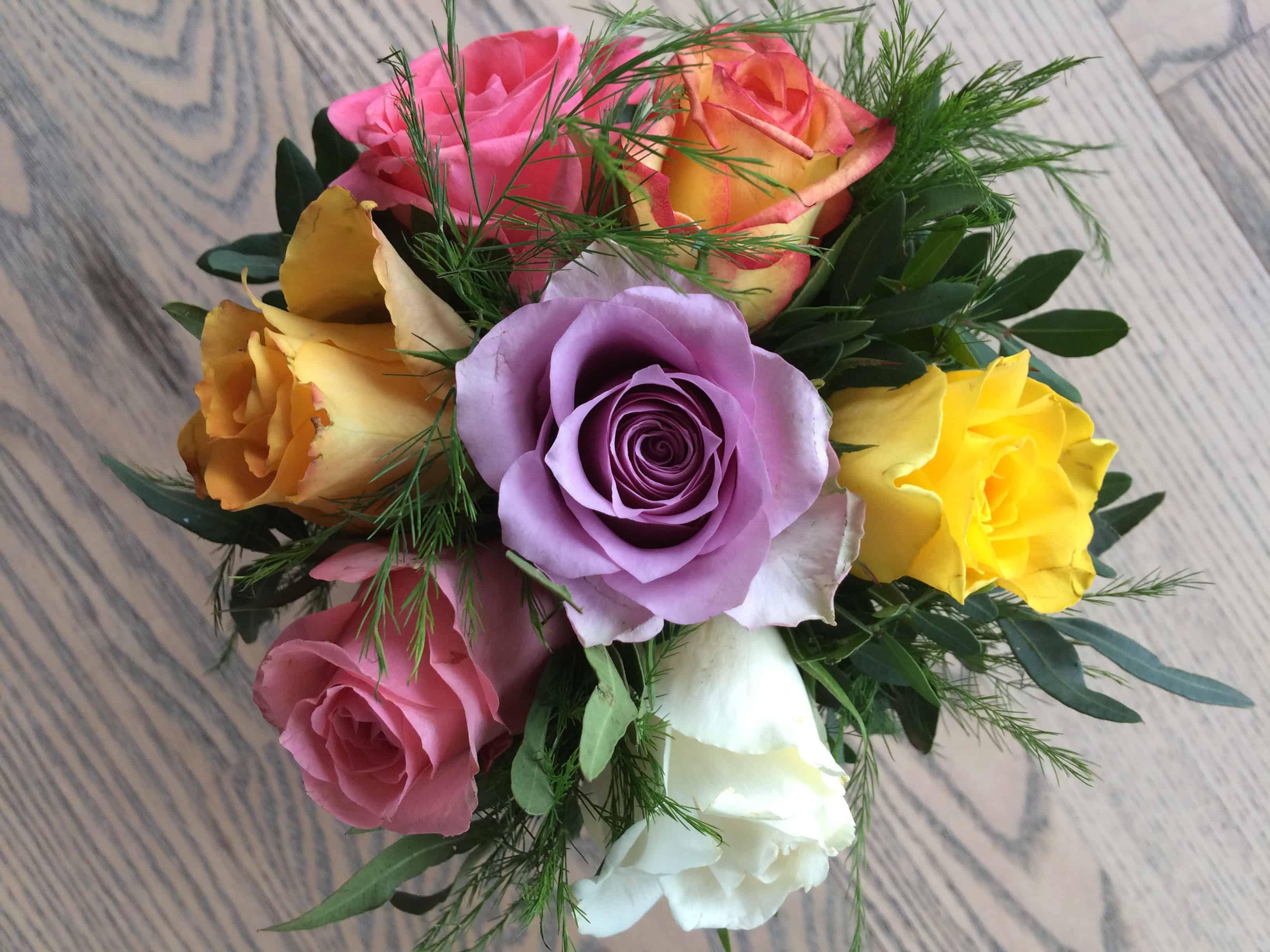 Blomster fra Hanne og Morten