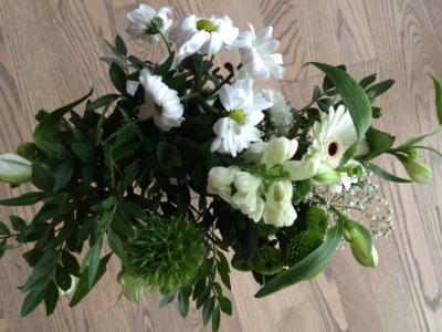 Blomster fra Lise og Knud