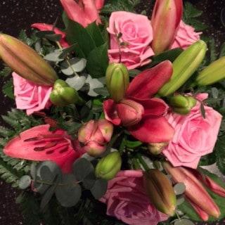 Blomster fra min kæreste