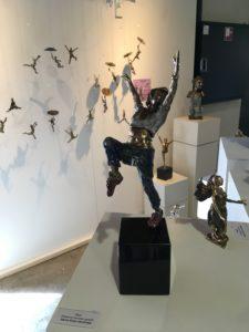 Bronze figurer fra Kunstværkstedet Dujo