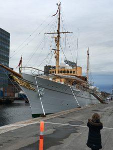 Fint besøg i Odense havn