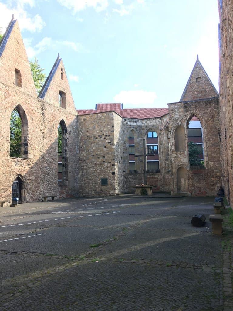 Aegidienkirche Hannover, set indefra
