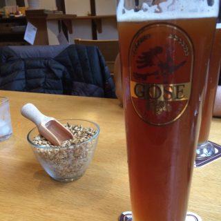 Gose øl og korn snack