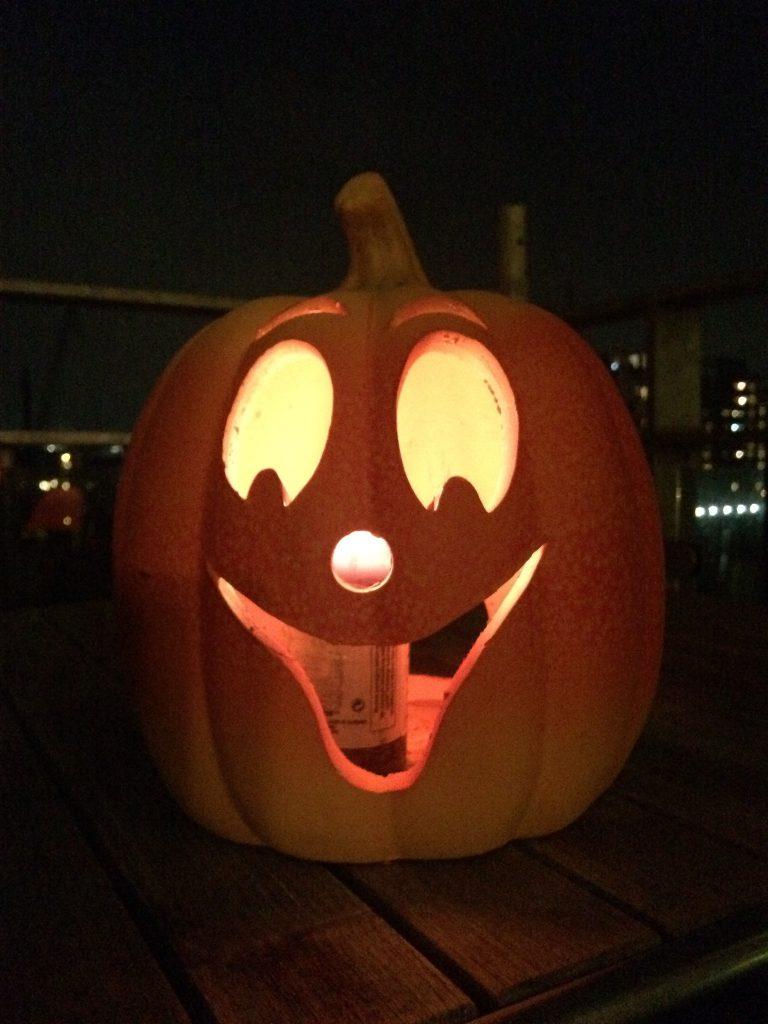 Halloween og græskar