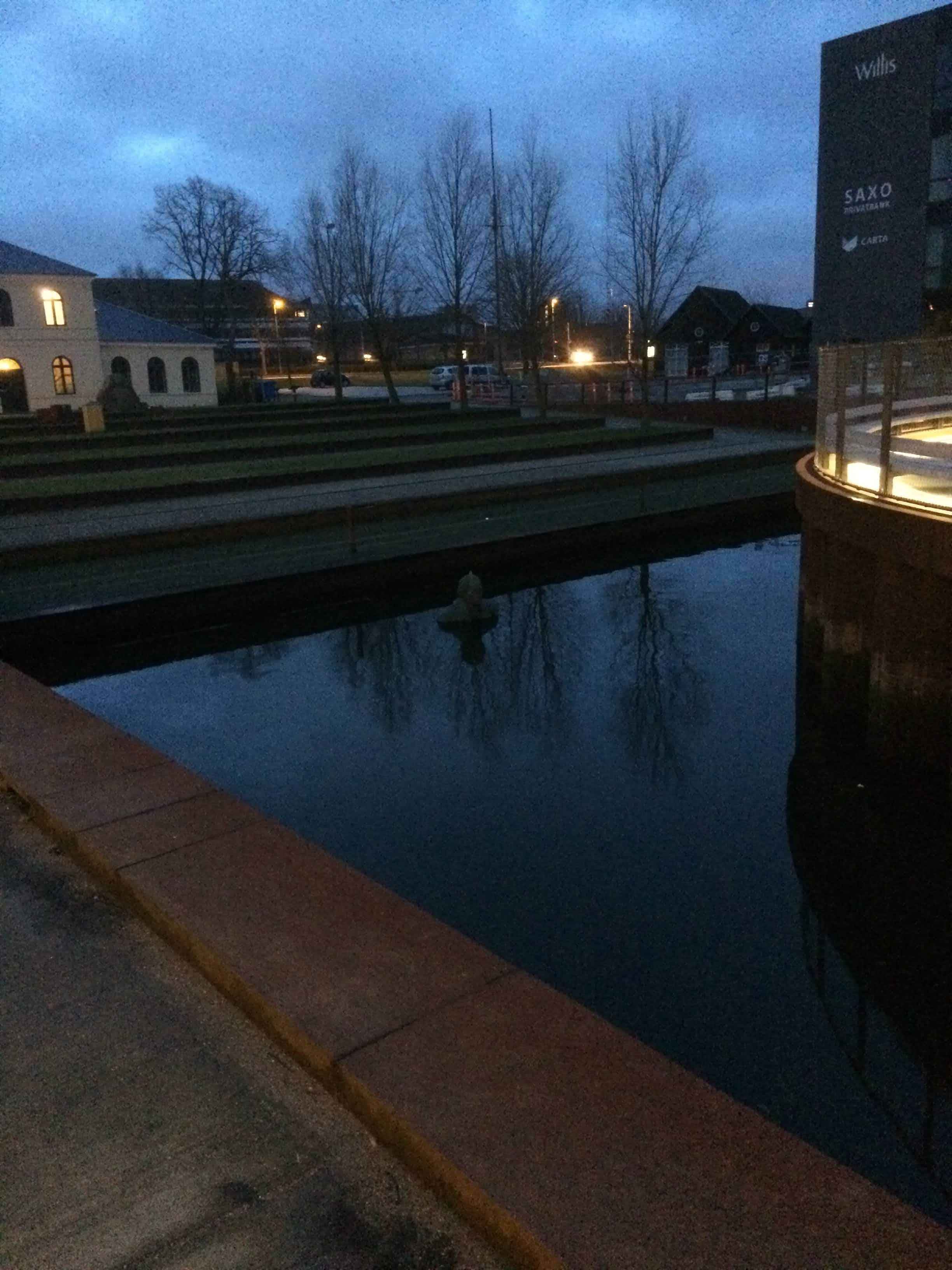 Galshiøts HCA figur i Odense havn