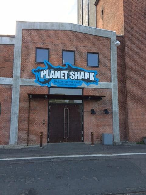 Planet Shark indgang